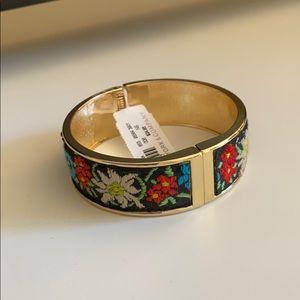 Floral Gold Bracelet